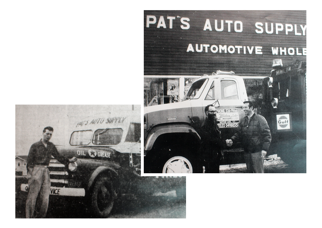 Pat's Auto Supply circa 1955