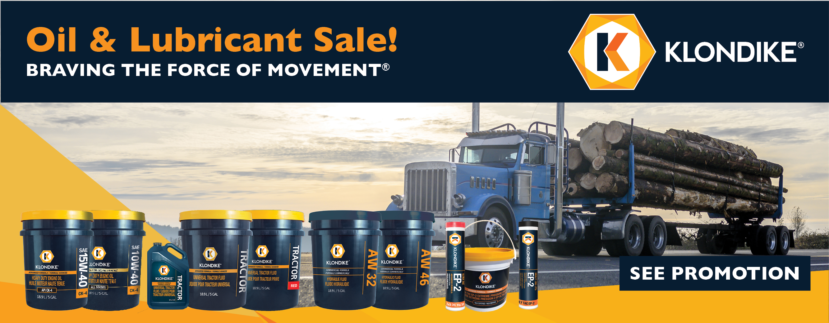 Pat's Klondike Oil & Lubricant Sale - Sept 2020